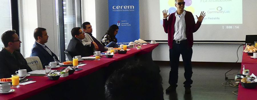 Alfredo Roldán, conferencista de Cerem International Business School en Colombia
